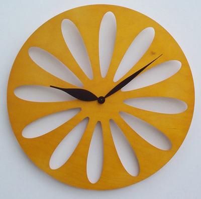 【ピロンディーニ】Pirondini イタリア・ピロンディーニ掛け時計Traffic008giallo