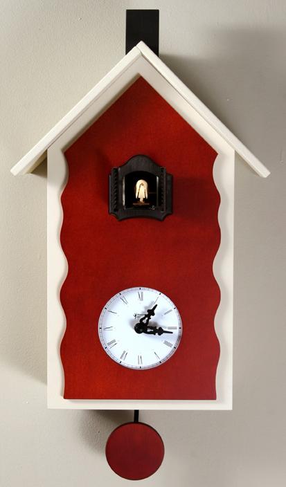 【ピロンディーニ】 鳩時計 カッコー掛け時計 ピロンディーニ CucuLac101Biancoイタリア はと時計 ハト時計