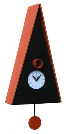 【ピロンディーニ】 鳩時計 カッコー掛け時計 ピロンディーニ Norimberga102arancio イタリア はと時計 ハト時計