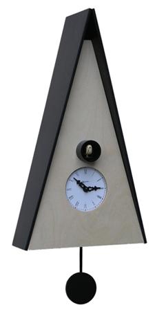 鳩時計 カッコー掛け時計 ピロンディーニ Norimberga102nero ハト時計 はと時計