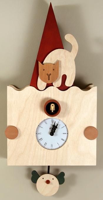【ピロンディーニ】ピロンディーニ鳩時計 カッコー掛け時計 Micio112 はと時計