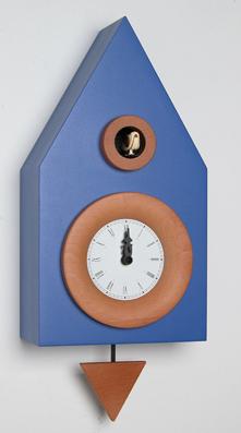 カッコー掛け時計 イタリア・ピロンディーニDark114blu 鳩時計 ハト時計 はと時計 カッコークロック