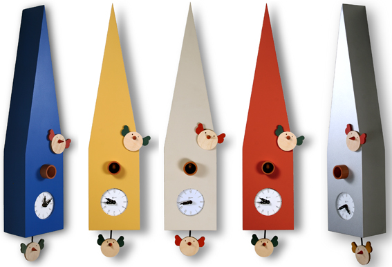 鳩時計 カッコー掛け時計 イタリア・ピロンディーニCip117 はと時計