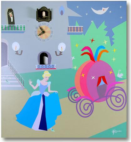 【ピロンディーニ】鳩時計 カッコー掛け時計 イタリア・ピロンディーニ鳩時計Cenerentola131 【smtb-F】