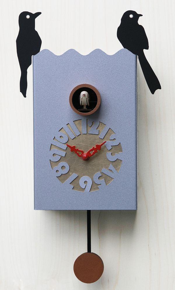 鳩時計 カッコー掛け時計 イタリア・ピロンディーニDuetto156 Allu はと時計 ハト時計 カッコークロック