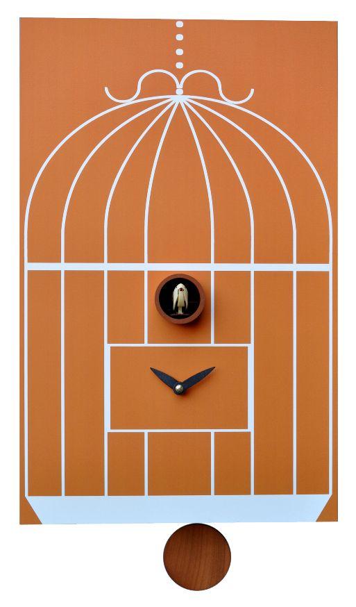 【ピロンディーニ】ピロンディーニ振り子鳩時計 カッコークロック Gabbia202 イタリア Pirondini 鳩時計