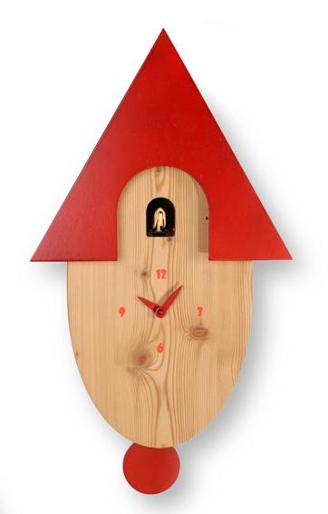 鳩時計 【ピロンディーニ】振り子鳩時計 カッコークロック Natural802 イタリア Pirondini 鳩時計 はと時計 ハト時計