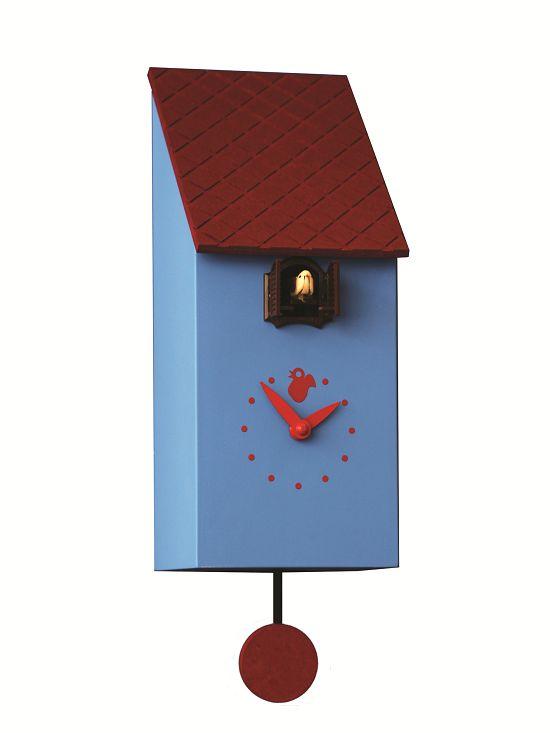 Pirondini カッコーが鳴いて時刻を知らせます!鳩時計 カッコークロック イタリア・ピロンディーニPortfino803