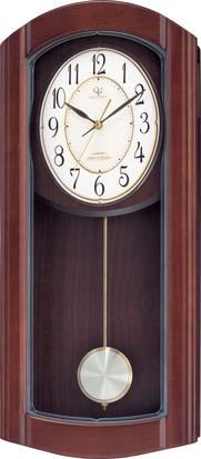報時振り子時計 RHG-M95 リズムハイグレード 4MN475HG06 電波振り子時計 名入れ無料サービス【楽ギフ_のし】【楽ギフ_メッセ入力】【楽ギフ_名入れ】