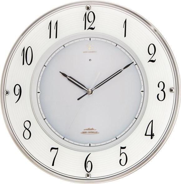 美しいガラスの掛け時計 ハイグレード RHG-E003 掛け時計 リズム時計 壁掛け時計 4MY781HG19 名入れ無料サービス【楽ギフ_のし】【楽ギフ_メッセ入力】【楽ギフ_名入れ】