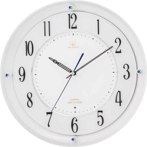 シンプルでスタイリッシュな掛け時計 ハイグレード RHG-M010 掛け時計 リズム時計 壁掛け時計 4MY789HG03 名入れ無料サービス【楽ギフ_のし】【楽ギフ_メッセ入力】【楽ギフ_名入れ】