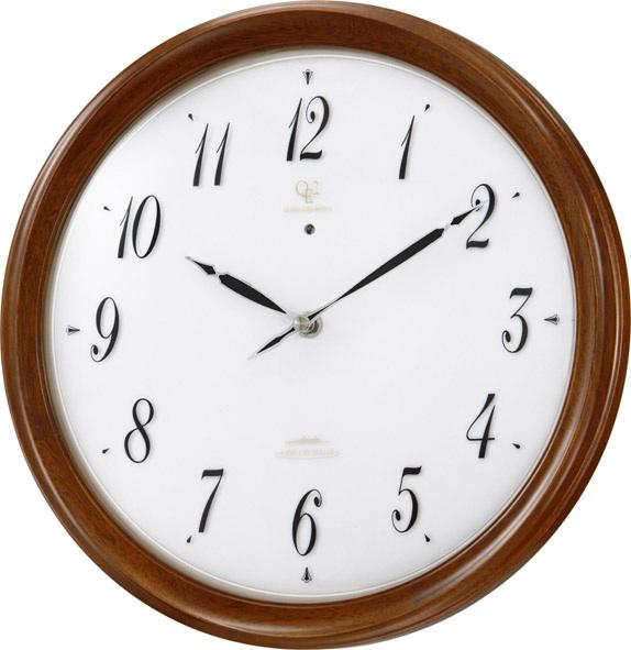 ソーラー電源掛け時計 RHG-M109 掛け時計 リズムハイグレード 壁掛け時計 4MY816HG06 名入れ無料サービス【楽ギフ_のし】【楽ギフ_メッセ入力】【楽ギフ_名入れ】