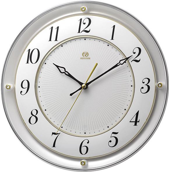 シンプルでスタイリッシュな掛け時計 ハイグレード RHG-M111 掛け時計 リズム時計 壁掛け時計 4MY858HG03 無料名入れ【楽ギフ_のし】【楽ギフ_メッセ入力】【楽ギフ_名入れ】