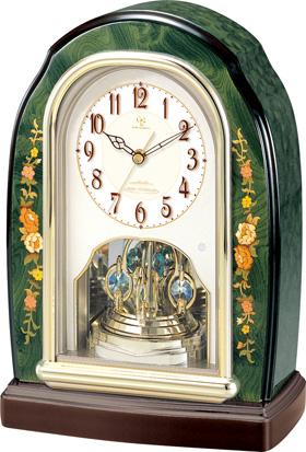 イタリアン象嵌細工が美しい スーパーセール期間限定 置き時計 RHG-S41 リズムハイグレードシリーズ 4RY678HG05 楽ギフ_名入れ 楽ギフ_のし NEW売り切れる前に☆ 名入れ無料サービス 楽ギフ_メッセ入力