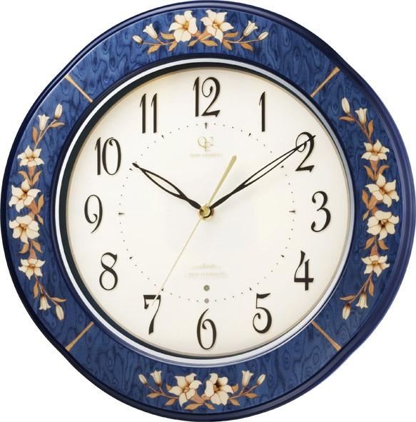 掛け時計 象嵌細工 RHG-M107 インタルシア掛け時計 リズムハイグレード 壁掛け時計 8MY471HG04 名入れ無料サービス 【楽ギフ_のし】【楽ギフ_メッセ入力】【楽ギフ_名入れ】