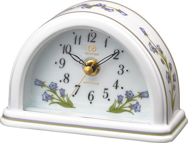 愛しいほどに美しい有田焼きの置時計! RHG-S77 8RG624HG12 磁器置時計 リズム時計 【楽ギフ_のし】【楽ギフ_メッセ入力】【楽ギフ_名入れ】