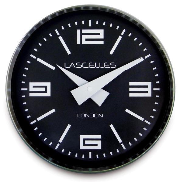 ロジャーラッセル掛け時計 RogerLascelles社製 Modern Brushed Chrome  Case WALL CLOCK 23cm ロジャーラッセル時計 COSMO-CHROME