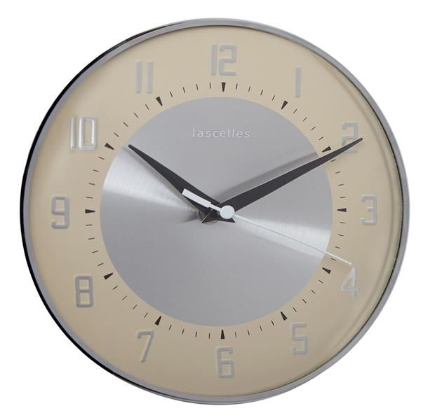 ロジャーラッセル掛け時計 RogerLascelles社製 DECO DOME CLOCK WALL CLOCK  DECO-DOME-CREAM