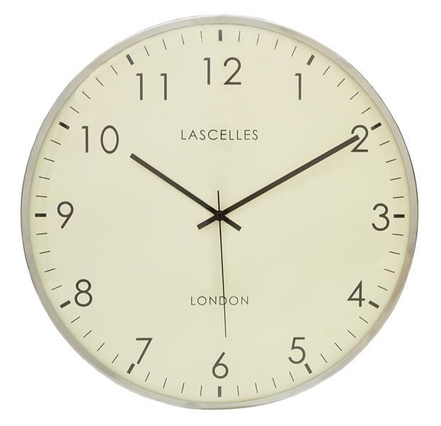 スタイリッシュデザイン ロジャーラッセルRogerLascelles社製 LASCELLES DOMED WALL CLOCK 41cm掛け時計 LC-DOME-LARGE