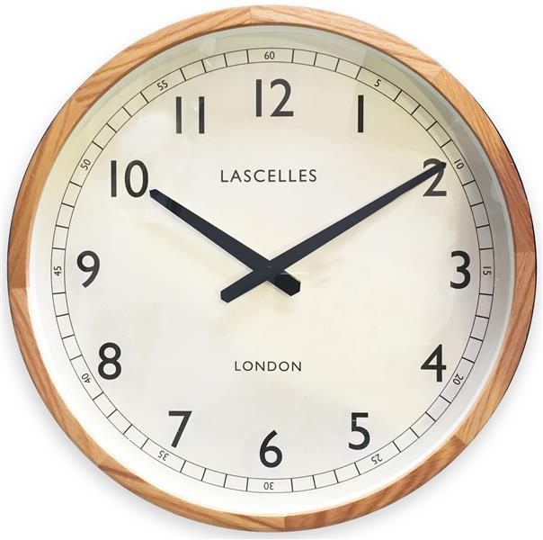 掛け時計 ロジャーラッセル RogerLascelles 壁掛け時計 Wooden Oak Case Traditional Clock 41.5cm ロジャーラッセル時計 LC-LASC-OAK
