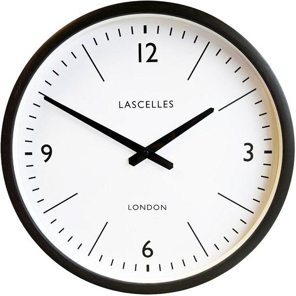掛け時計 ロジャーラッセル RogerLascelles 壁掛け時計 DARK GREY OAK WALL CLOCK - 41.5CM LC-LASC-OAK-GREY