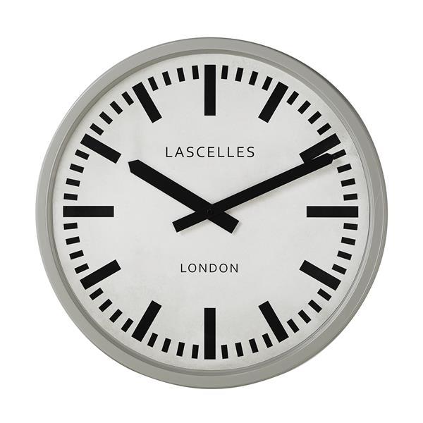 大型掛け時計 レトロ調でお洒落 ロジャーラッセル大型掛け時計 RogerLascelles掛け時計 掛け時計 LM-LASC-GREY