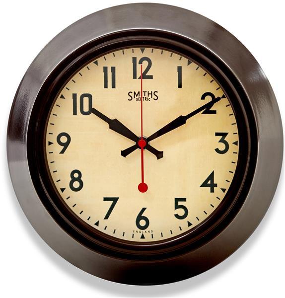 レトロ調でお洒落!ロジャーラッセルRogerLascelles社製 掛け時計 LON-SM-BRN