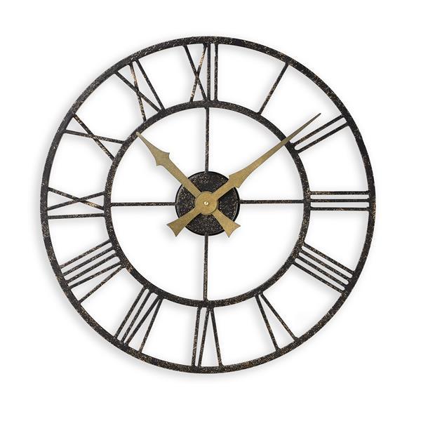 ロジャーラッセル掛け時計 大型掛け時計 レトロデザイン  屋外・屋内兼用 Roger Lascelles掛け時計 Outdoor/Indoor Clock 50cm 壁掛け時計 ロジャーラッセル時計 ODC-VINTAGE