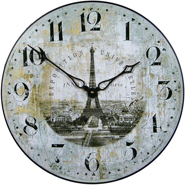 アンティーク調でお洒落!ロジャーラッセル掛け時計Roger Lascelles掛け時計 壁掛け時計 ロジャーラッセル時計 PUB-EIFFEL