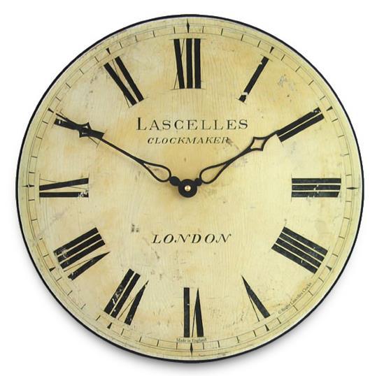 アンティーク調でお洒落!ロジャーラッセル掛け時計 RogerLascelles掛け時計 Antique Style Lascelles Wall Clock 壁掛け時計 ロジャーラッセル時計 PUB-LASC