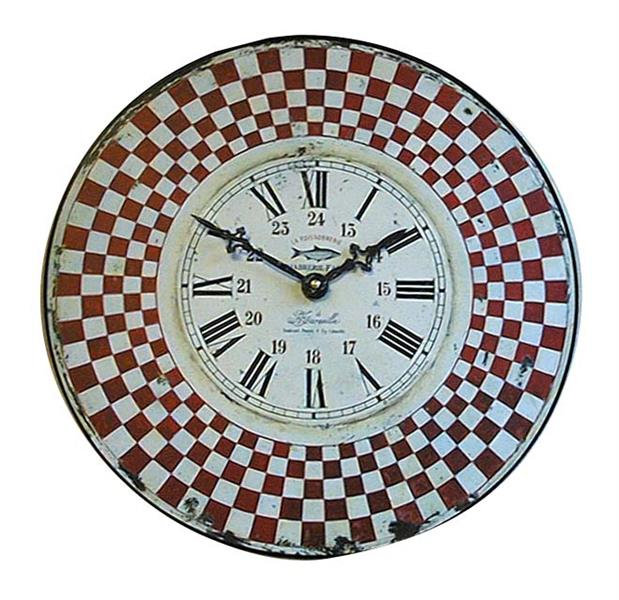 アンティーク調でお洒落! ロジャーラッセル掛け時計 RogerLascelles掛け時計 FRENCH WOODEN MARSEILLE WALL CLOCK 壁掛け時計 PUB-MARSEILLE