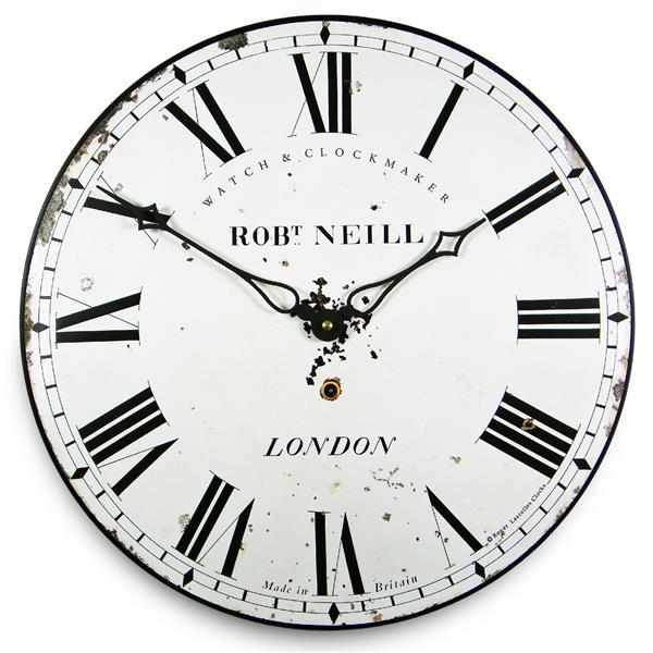 アンティーク調でお洒落!ロジャーラッセル掛け時計 RogerLascelles掛け時計 Classic London wall clock 壁掛け時計 ロジャーラッセル時計 PUB-NEILL