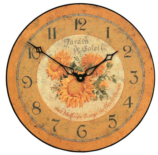 アンティーク調でお洒落!ロジャーラッセル掛け時計 RogerLascelles掛け時計 壁掛け時計 PUB-SOLEIL ひまわり
