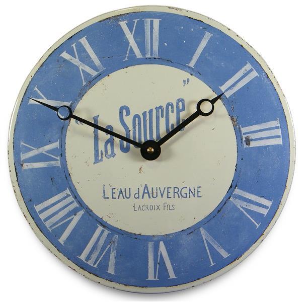 アンティーク調でお洒落!ロジャーラッセル掛け時計 Roger Lascelles掛け時計'LA SOURCE' FRENCH WALL CLOCK 壁掛け時計 ロジャーラッセル時計 PUB-SOURCE