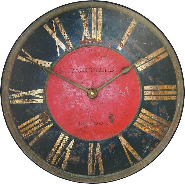 アンティーク調でお洒落!ロジャーラッセルRogerLascelles社製 掛け時計 ロジャーラッセル時計 PUB-TURRET