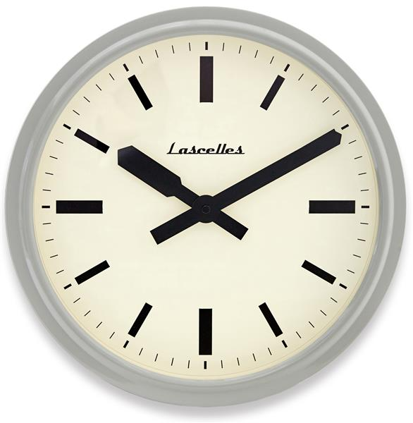 ロジャーラッセル掛け時計 Roger Lascelles掛け時計 Deep Retro Grey Wall Clock 36cm 壁掛け時計 RETRO-LONDON-GREY