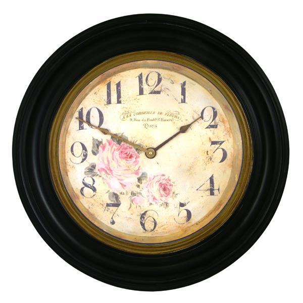 アンティーク調でお洒落!ロジャーラッセル掛け時計 Roger Lascelles掛け時計  壁掛け時計 ロジャーラッセル時計 RWB-FLORIST