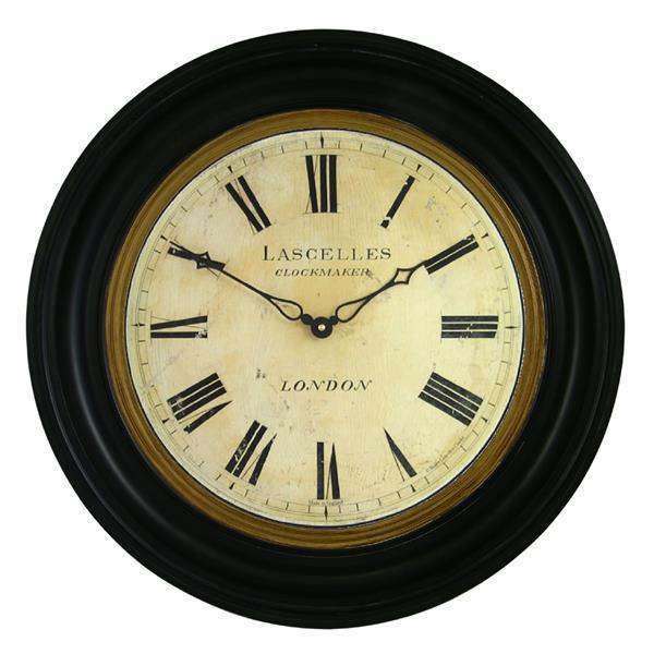 ロジャーラッセルRoger Lascelles社製TRADITIONALLY FRAMED LASCELLES DIAL CLOCK - 50cm 大型掛け時計 ロジャーラッセル時計 RWB-LASC