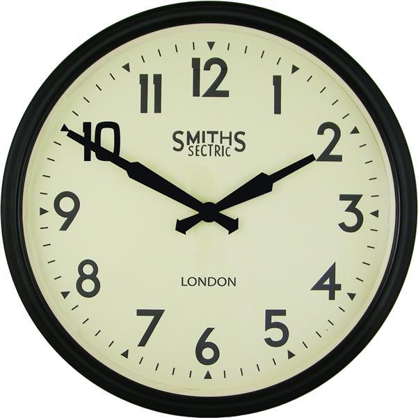 大型掛け時計 レトロデザイン!ロジャーラッセル掛け時計 RogerLascelles掛け時計 Smiths Large Retro Clock 50cm 壁掛け時計 ロジャーラッセル時計 SM-LM-ARABIC