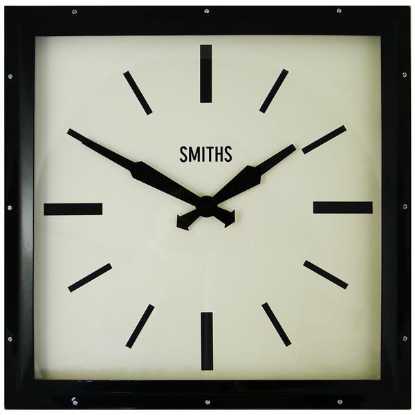 レトロデザイン!ロジャーラッセル掛け時計 RogerLascelles掛け時計 Smiths Retro Clock 41cm 壁掛け時計 SM-MODERN-BLACK