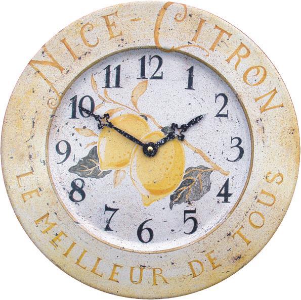 アンティーク調でお洒落!ロジャーラッセル掛け時計 RogerLascelles社製 壁掛け時計 TIN-CITRON