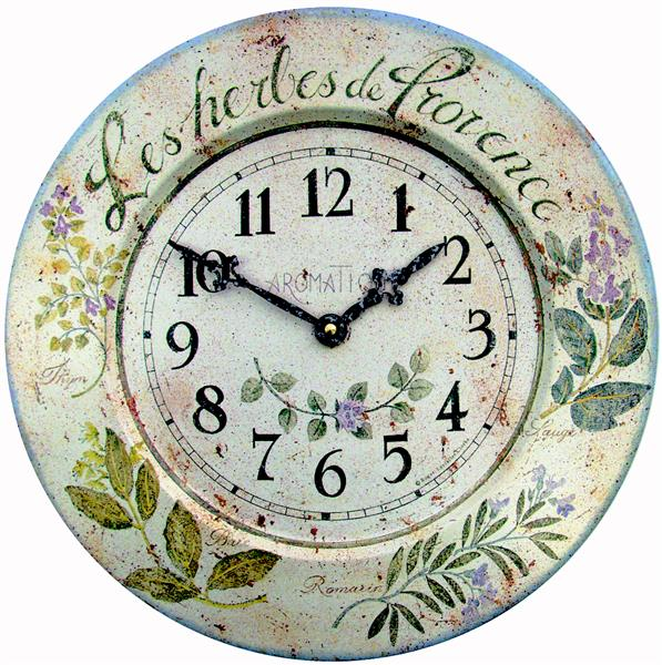 アンティーク調でお洒落!ロジャーラッセル掛け時計 RogerLascelles社製 壁掛け時計 TIN-HERBES