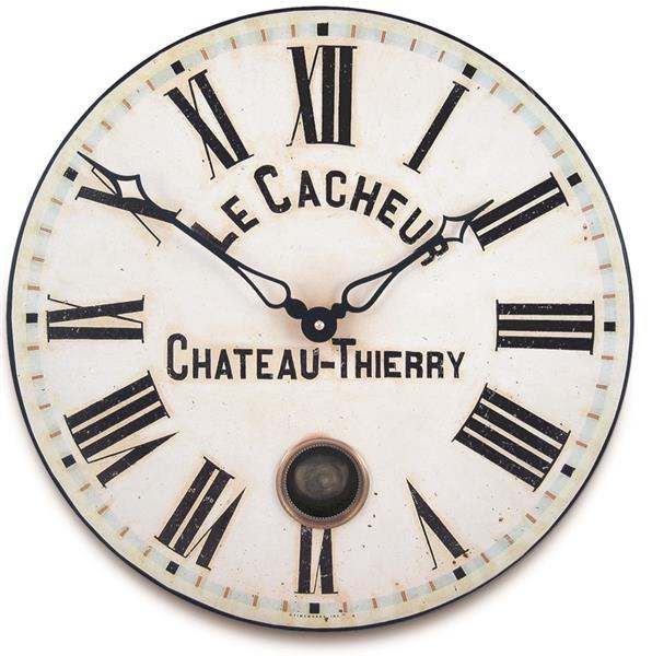 ロジャーラッセル掛け時計 RogerLascelles Antique French Clockmaker's Dial with Pendulum  41cm振り子時計 ロジャーラッセル時計 TW-PEND-CACHEUR