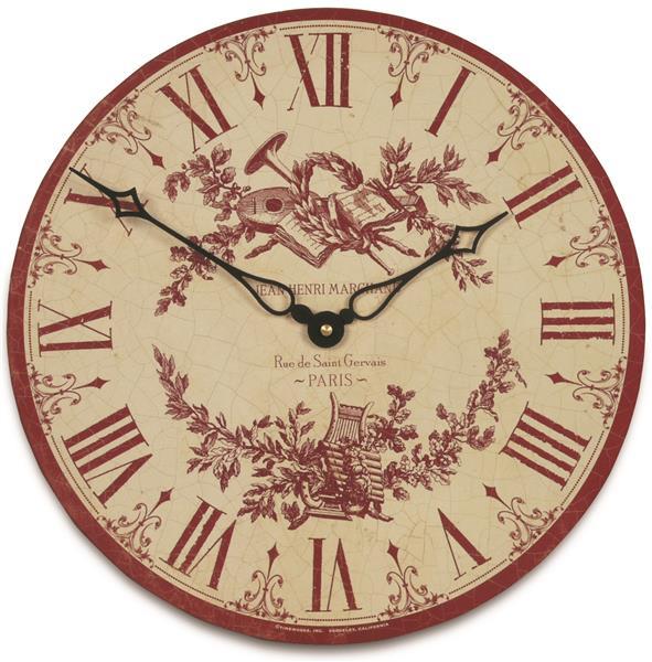 掛け時計 ロジャーラッセル RogerLascelles 掛け時計 Toile Design Wall Clock 36cm TW-TOILE