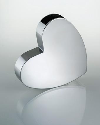 ハートVase ステンレスフラワーベース 花瓶SALUS FB-05