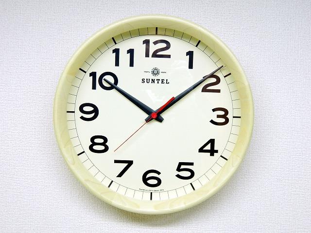 さんてる 天然木 置き掛け兼用電波時計 ナチュラル DQL699NA サンテル 日本製