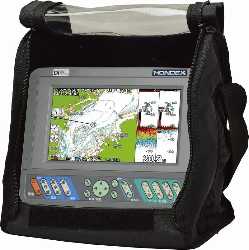 HONDEX (ホンデックス) PS-700GP-Di バリューセット 7型ワイドカラー液晶ポータブルGPS内蔵プロッター魚探