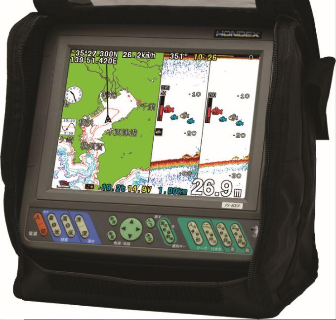 8.4型カラー液晶GPS内蔵プロッター魚探 HONDEX(ホンデックス) PS-800GP(S) バリューセット 【魚群探知機/GPS魚探/GPS魚群探知機】