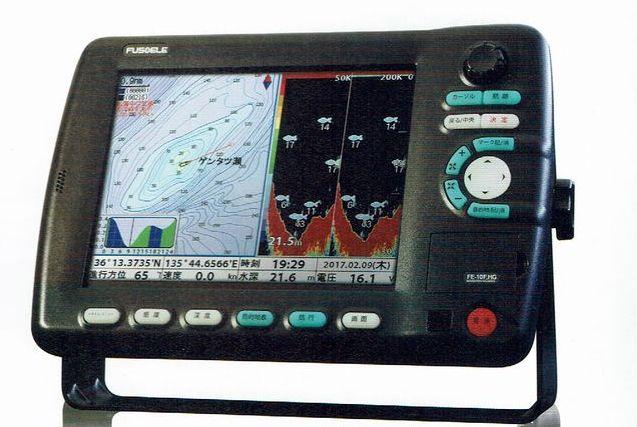 FE-8F_HG 1kW仕様 8型LEDカラー液晶 GPS プロッタ 魚探 FUSO(フソー)【魚群探知機/GPS魚探/GPS魚群探知機】
