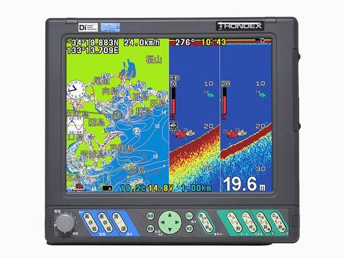 【NEW】外付アンテナ仕様 HE-10S 10.4型カラー液晶プロッターデジタル魚探